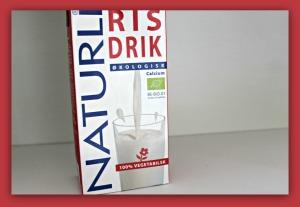 rød rismælk fra Naturli'