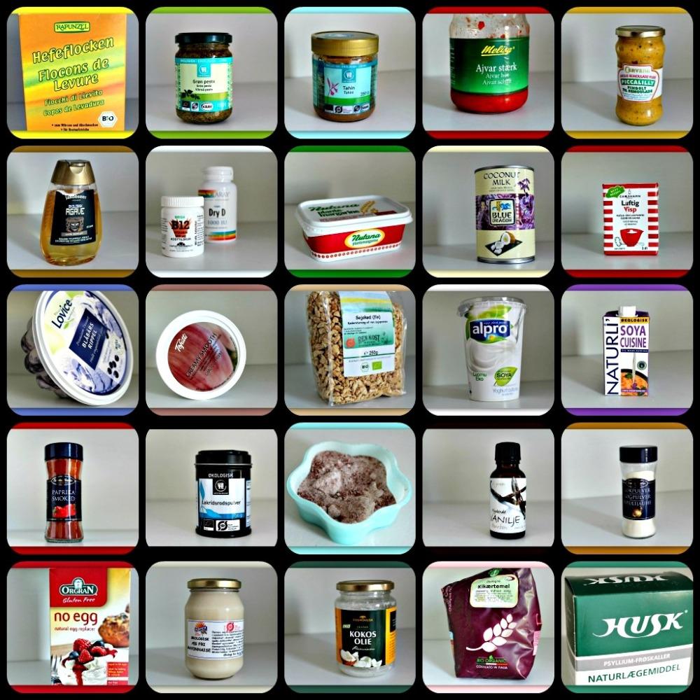 Guide til veganske produkter (1/6)
