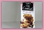 cookies med tranebær