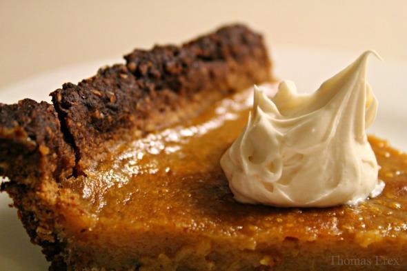 vegansk sødkartoffeltærte sweet potato pie
