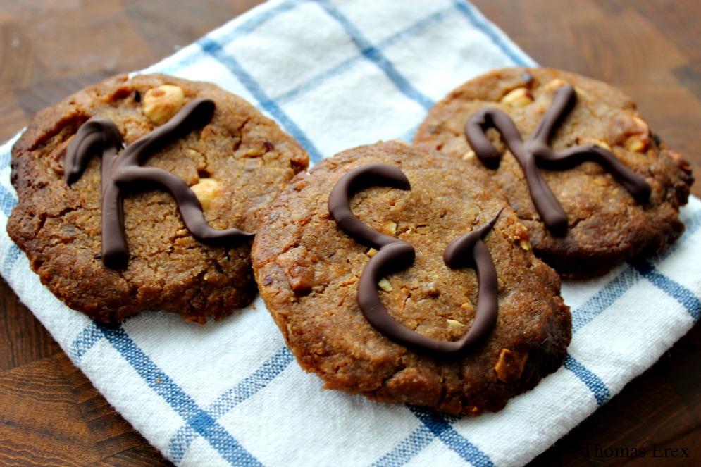 veganske cookies chokolade