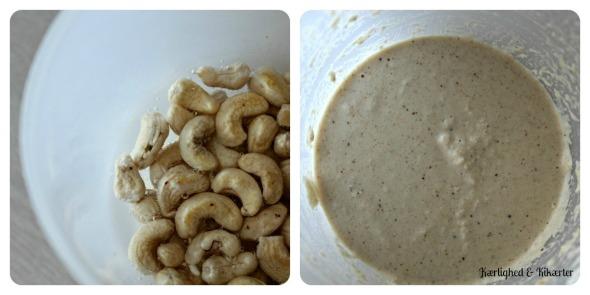 cashewost, ost, cashewnødder