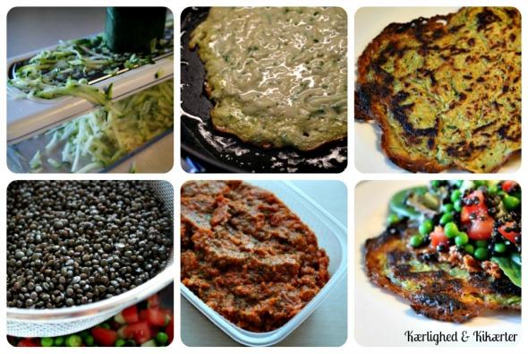kikærter, pandekager, kikærtemel, uden æg, vegansk