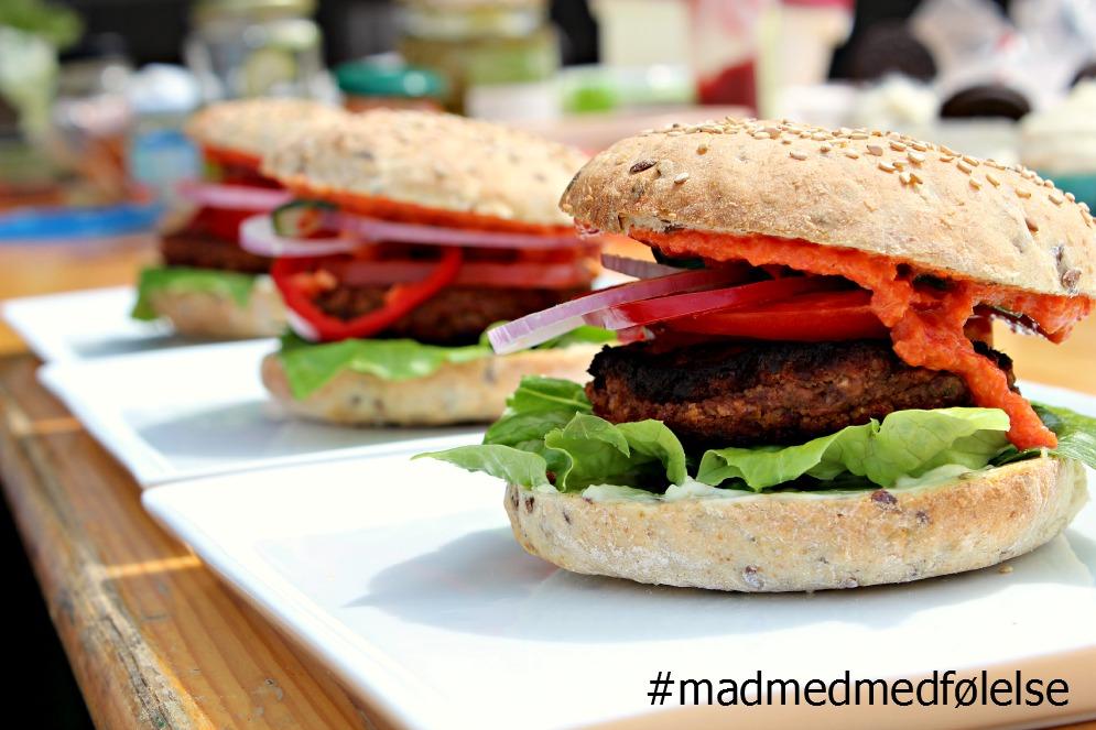 vegansk, burger, mad med medfølelse, danmarks bedste livret