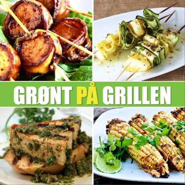 vegetar, grill, sommer, mad