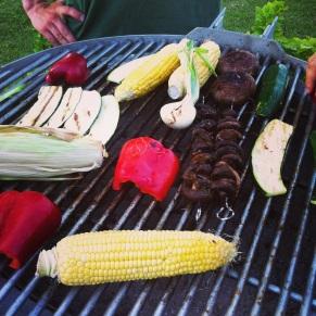 Lækker grill med grønt - det er da flottere farver end den traditionelle grillmad!