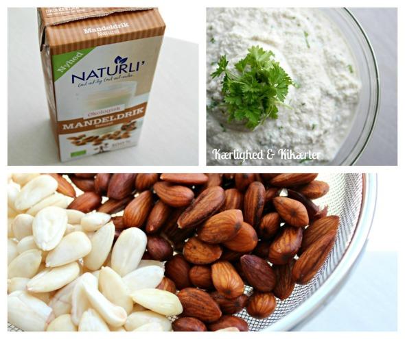 Smøreost af mandler - laktosefri, mælkefri, vegansk