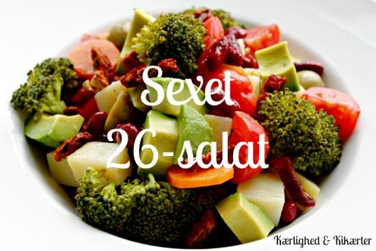 grov, sund salat til store, stærke drenge