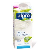 Yoghurt lavet af sojabønner kan efterhånden findes overalt. Rema 1000, Føtex, SuperBrugsen, Kvickly og mange andre butikker har det.