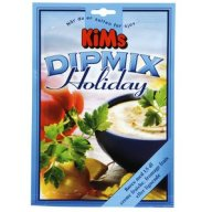 Holiday-Dilmix kn blandes med sojayoghurt.