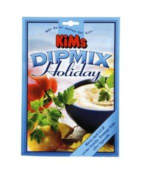 Holiday-Dilmix kn blandes med sojayoghurt.