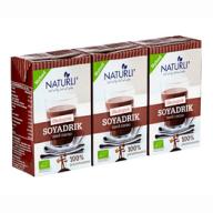 Den bedste kakaomælk i verden er sojakakao. Naturli' laver den bedste kakaomælk, som dine venner uden tvivl vil elske. Den kan findes i de fleste større supermarkeder.