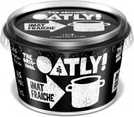Oatly laver denne cremefraiche af havre, og den kan købes i Irma.