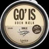 Den bedste veganske flødeis hedder GO' IS. Den kan findes i mange forskellige varianter, og den er at finde i Meny.