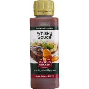 Mmm... Whiskeysauce er lækkert.
