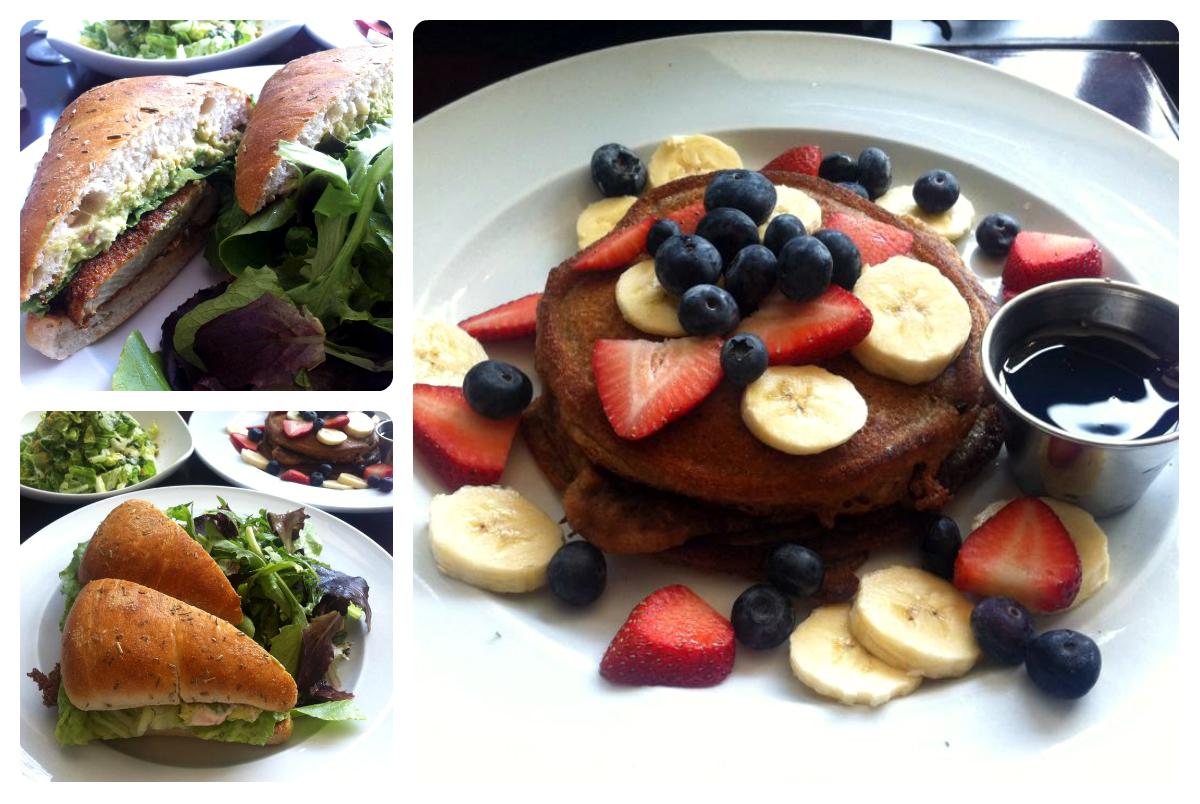 vegansk restaurant, café, new york