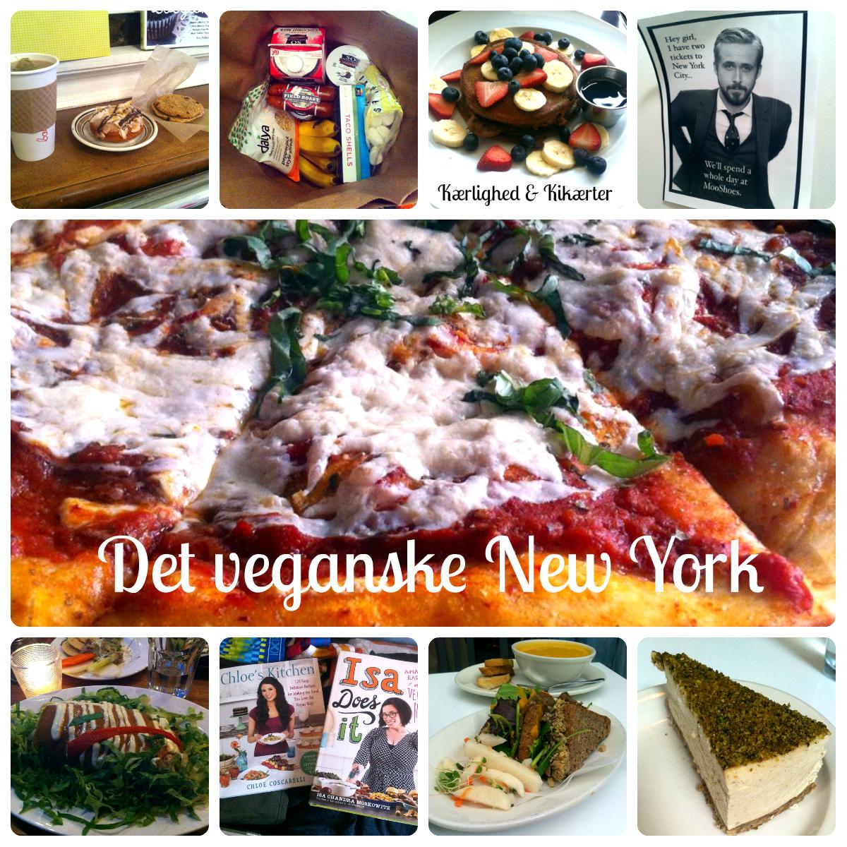 Ud at spise i New York, vegetar, veganer
