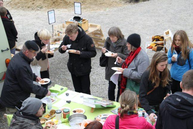 Ved sidste års bæredygtighedsfestival var vi et stort hit med vores mange smagsprøver. I år gør vi det endnu bedre!