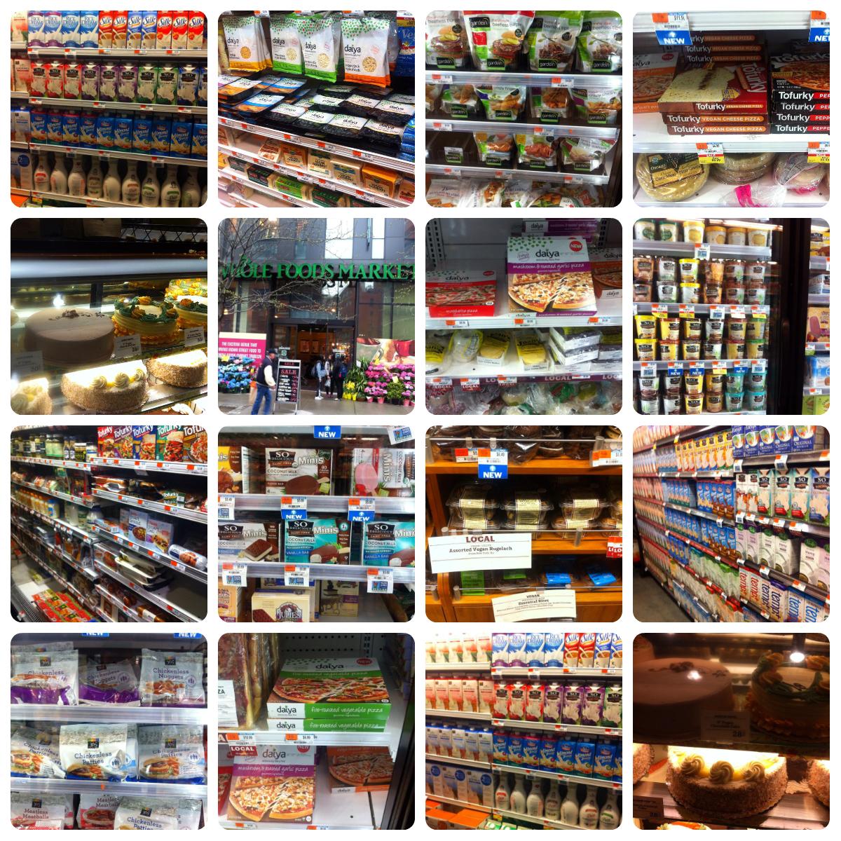 vegansk shopping, new york