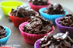 chokolade, cornflakes, konfekt, knas, toppe