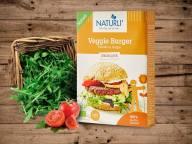 Burgerbøffer fra Naturli' kan købes i Kvickly og Brugsen.