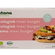 Nutana laver ud over falafler og nogle burgerbøffer, hvoraf de fleste er veganske. Mexi-burgeren er rigtig god. Den kan findes på frost i Kvickly, SuperBrugsen, helsekostbutikker mm.