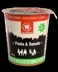 Pasta og tomat fra Urtekram, tilsæt bare vand.