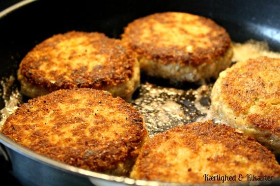 veganske karbonader, vegetarisk, uden kød