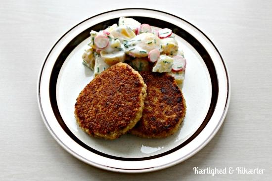 veganske karbonader, vegetar, kødfri