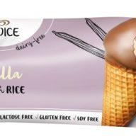 Vegansk is på soya og ris fra Frisko.