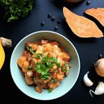efterår, gryderet, hokkaido, søde kartofler