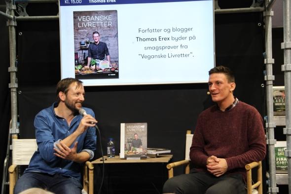 veganske livretter Thomas Erex bogforum foredrag