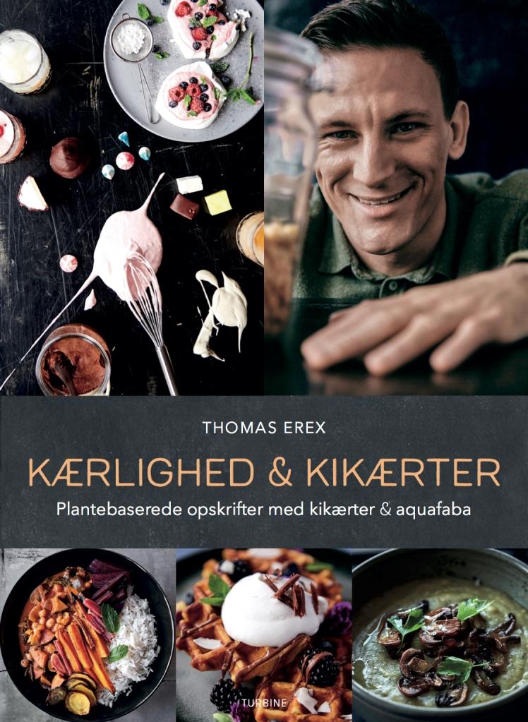 Thomas Erex, Kærlighed & Kikærter, forside